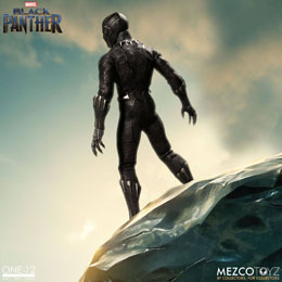 Photo du produit MARVEL UNIVERSE FIGURINE 1/12 BLACK PANTHER 17 CM Photo 2