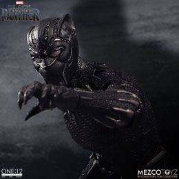 Photo du produit MARVEL UNIVERSE FIGURINE 1/12 BLACK PANTHER 17 CM Photo 3