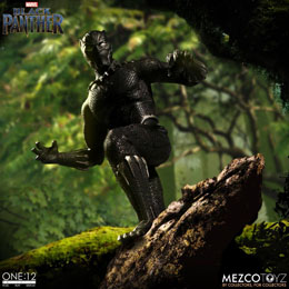 Photo du produit MARVEL UNIVERSE FIGURINE 1/12 BLACK PANTHER 17 CM Photo 4