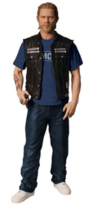 SONS OF ANARCHY FIGURINE JAX TELLER SAMCRO SHIRT VERSION