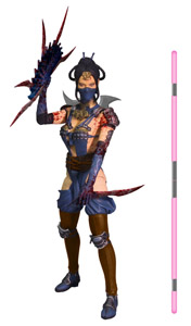 FIGURINE MORTAL KOMBAT X KITANA MOURNFUL VARIANT PREVIEWS EXCLUSIVE