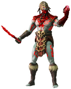 FIGURINE MORTAL KOMBAT X KOTAL KHAN BLOOD GOD VARIANT PREVIEWS EXCLUSIVE