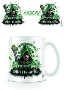 ARROW MUG SHOOT FOR JUSTICE