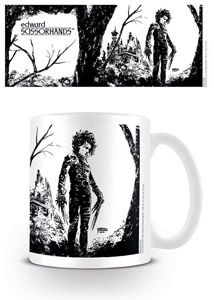 EDWARD AUX MAINS D´ARGENT MUG BLACK INK