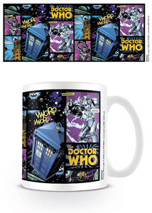MUG DOCTOR WHO COMIC STRIP