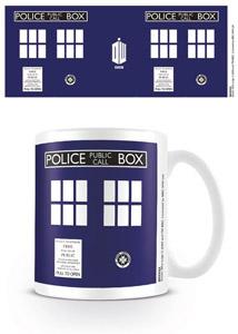 DOCTOR WHO MUG TARDIS