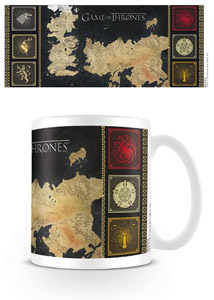 Photo du produit MUG LE TRONE DE FER MAP