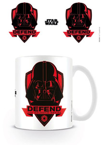 STAR WARS MUG DEFEND THE EMPIRE