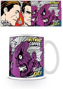 BATMAN MUG TWO-FACE COFFEE
