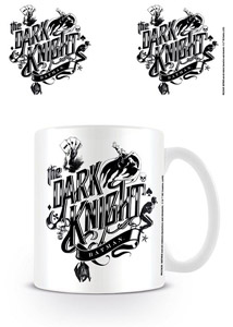 BATMAN MUG THE DARK KNIGHT TYPOGRAPHY