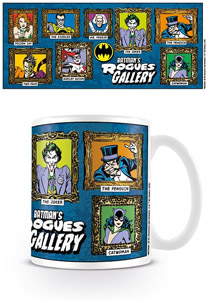 DC ORIGINALS MUG BATMAN'S ROGUES GALLERY