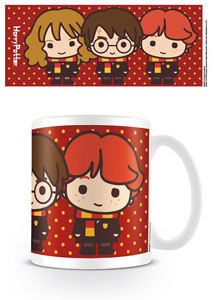 Photo du produit HARRY POTTER MUG KAWAII HARRY RON HERMIONE