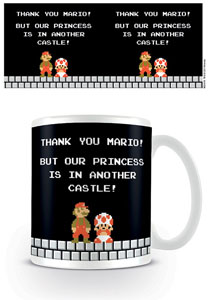 SUPER MARIO BROS. MUG ANOTHER CASTLE