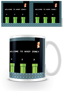 SUPER MARIO BROS. MUG WARP ZONE