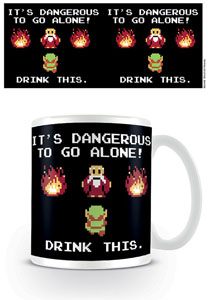 LEGEND OF ZELDA MUG DRINK THIS