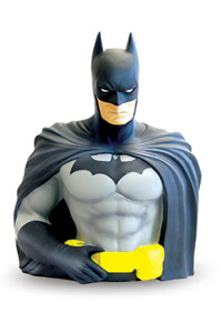 DC UNIVERSE TIRELIRE BUST BANK BATMAN