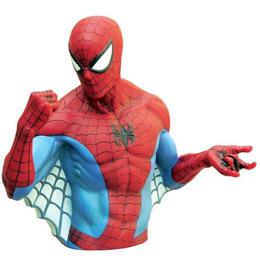 MARVEL TIRELIRE BUST BANK SPIDER MAN CLASSIC 20CM