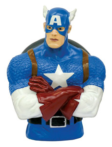 MARVEL TIRELIRE BUST BANK CAPTAIN AMERICA