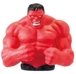 MARVEL TIRELIRE BUST BANK RED HULK
