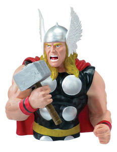 MARVEL TIRELIRE BUST BANK THOR CLASSIC