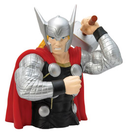 MARVEL TIRELIRE BUST BANK THOR MODERN