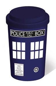 DOCTOR WHO MUG DE VOYAGE TARDIS