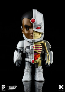 DC COMICS FIGURINE XXRAY WAVE 2 CYBORG