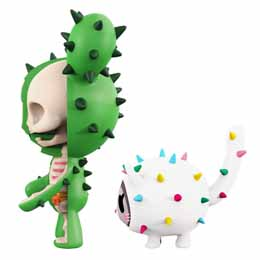Photo du produit TOKIDOKI PACK 2 FIGURINES XXRAY SANDY & CARINA Photo 1