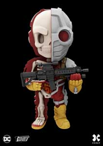 DC COMICS FIGURINE XXRAY DELUXE WAVE 4 DEADSHOT