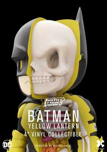 Photo du produit DC COMICS FIGURINE XXRAY WAVE 5 BATMAN YELLOW LANTERN Photo 4