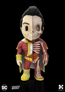 DC COMICS FIGURINE XXRAY WAVE 5 SHAZAM