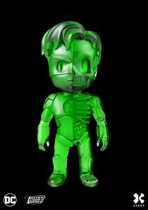 DC COMICS FIGURINE XXRAY GREEN LANTERN CLEAR GREEN EDITION