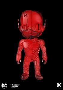 DC COMICS FIGURINE XXRAY WAVE 5 THE FLASH CLEAR RED EDITION