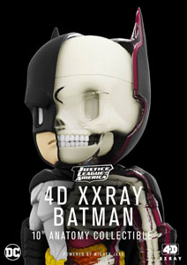 DC COMICS FIGURINE XXRAY BATMAN 4D 23 CM