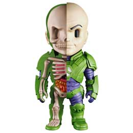 DC COMICS FIGURINE XXRAY WAVE 6 LEX LUTHOR