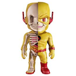 DC COMICS FIGURINE XXRAY WAVE 6 REVERSE FLASH