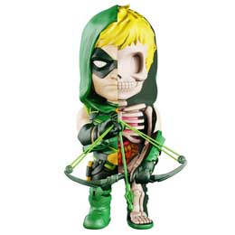 DC COMICS FIGURINE XXRAY WAVE 6 GREEN ARROW