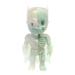 DC COMICS FIGURINE XXRAY GID BATMAN KIDROBOT EXCLUSIVE