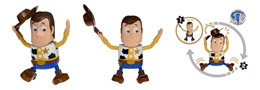 FIGURINE DISNEY MOVIN MOVIN TOY STORY WOODY SERIE 2
