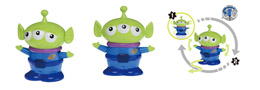 FIGURINE DISNEY MOVIN MOVIN TOY STORY ALIEN SERIE 3