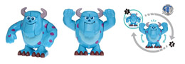 FIGURINE DISNEY MOVIN MOVIN MONSTRES ET COMPAGNIE SULLEY SERIE 9