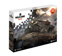 PUZZLE WORLD OF TANKS EAST V WEST (1000 PIECES)