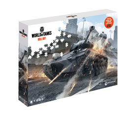 PUZZLE WORLD OF TANKS WATCH YOUR BACK (1000 PIECES)