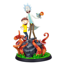 RICK & MORTY STATUETTE RICK & MORTY 30 CM