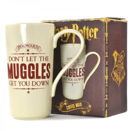 LATTE MUG HARRY POTTER HOGWARTS MUGGLE