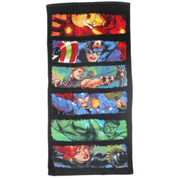 SERVIETTE DE BAIN THE AVENGERS