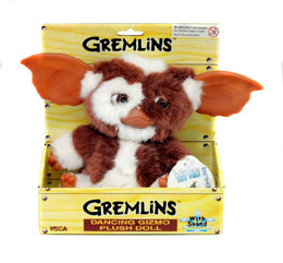 GREMLINS PELUCHE SONORE DANCING GIZMO 20 CM