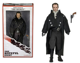 HATEFUL EIGHT FIGURINE RETRO STYLE SHERIFF CHRIS MANNIX