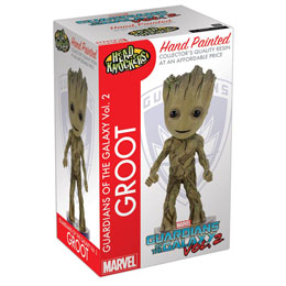 LES GARDIENS DE LA GALAXIE VOL 2 NEW GROOT HEAD KNOCKER 18CM
