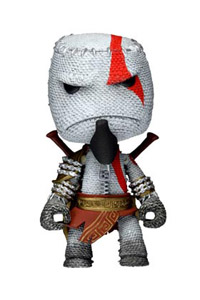 LITTLE BIG PLANET SACKBOY KRATOS COSPLAY